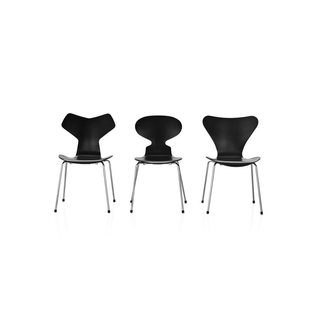 chaise serie 7 reproduction arne jacobsen pas cher. Black Bedroom Furniture Sets. Home Design Ideas