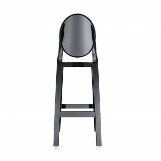 Kartell Crystal One More counter Stool Ghost