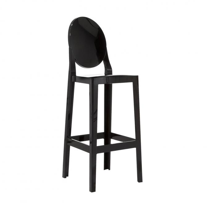 tabouret de bar one more kartell crystal replique diiiz. Black Bedroom Furniture Sets. Home Design Ideas