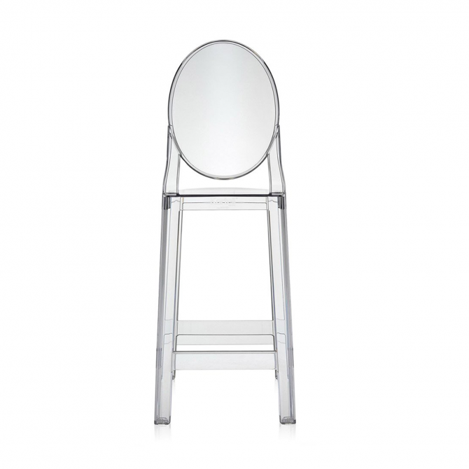 Tabouret de Bar One More Kartell Crystal Ghost