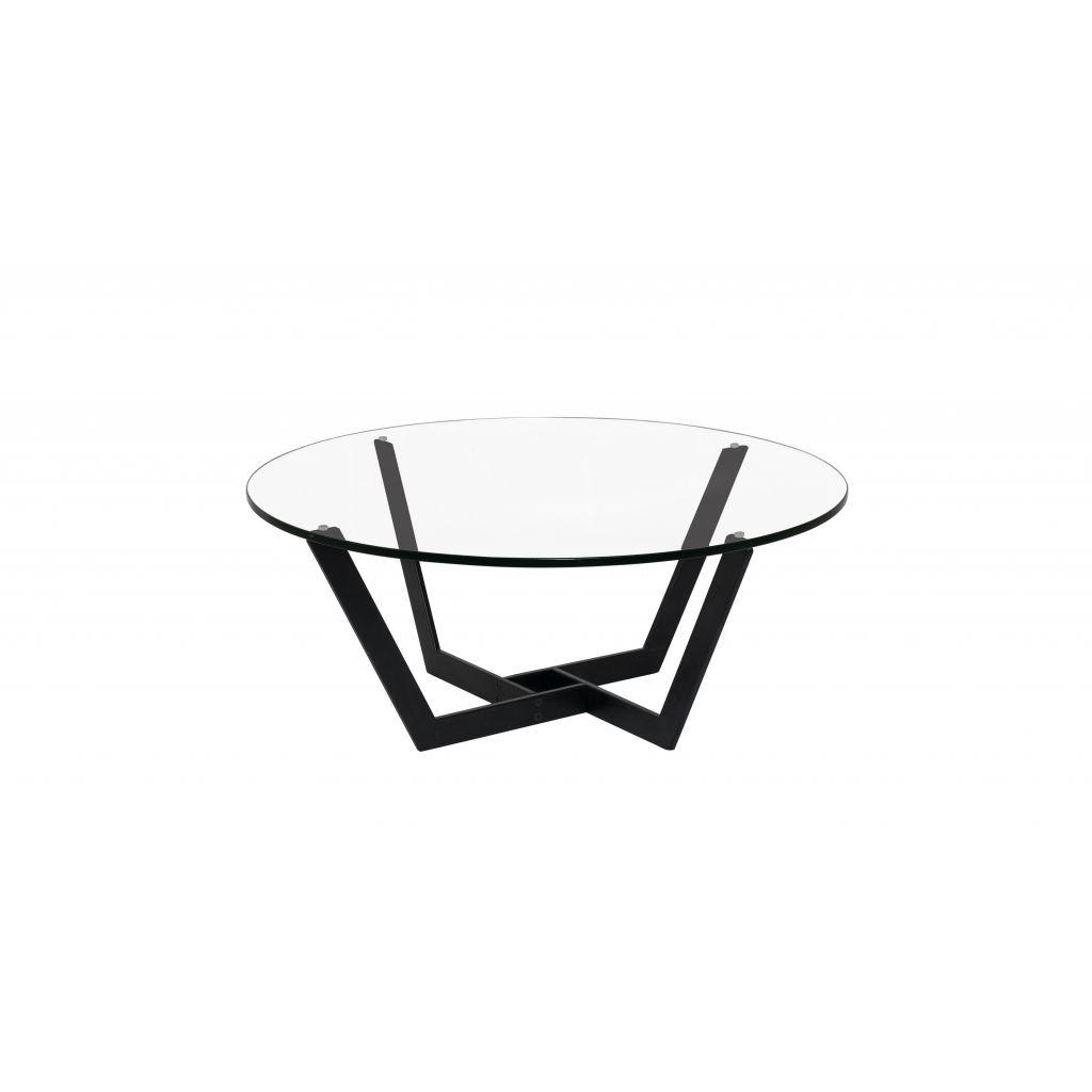 table basse en m tal noir et en verre haute qualit. Black Bedroom Furniture Sets. Home Design Ideas