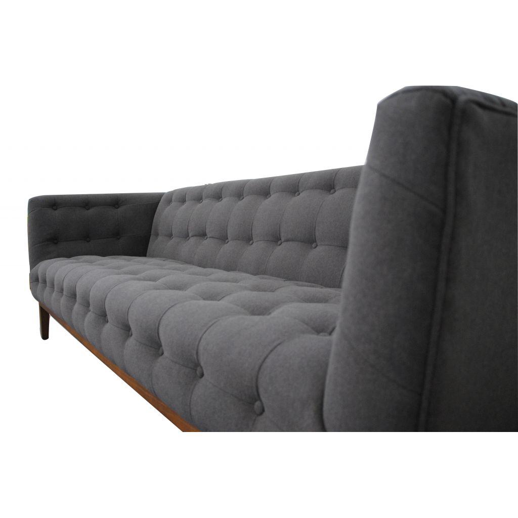 canapé cassie 3 places en tissu - qualité - pas cher