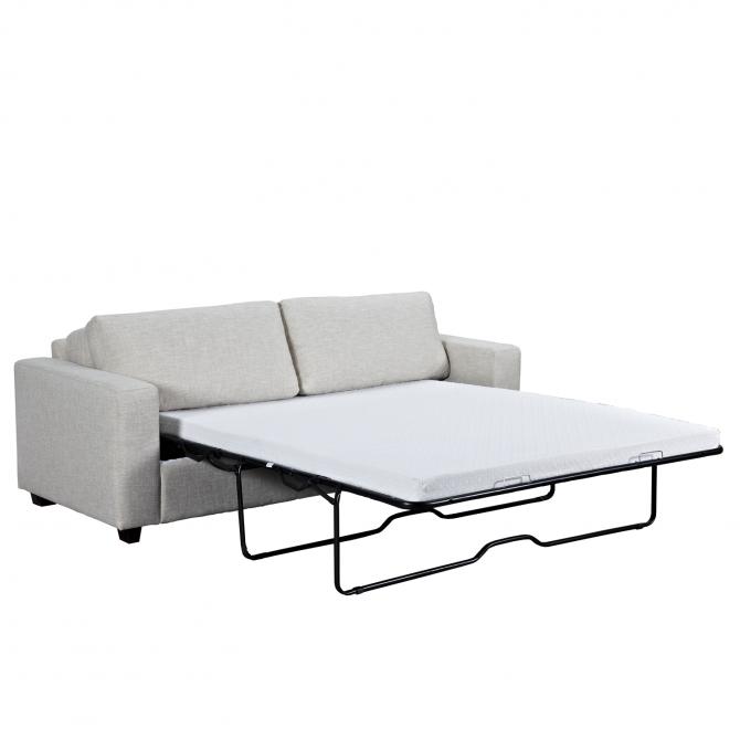 Canapé-lit COMFY 3 places en tissu
