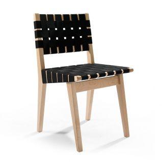 Chaise Risom en bois