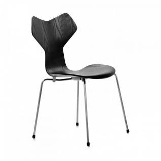 Chaise Grand Prix bois - Arne Jacobsen