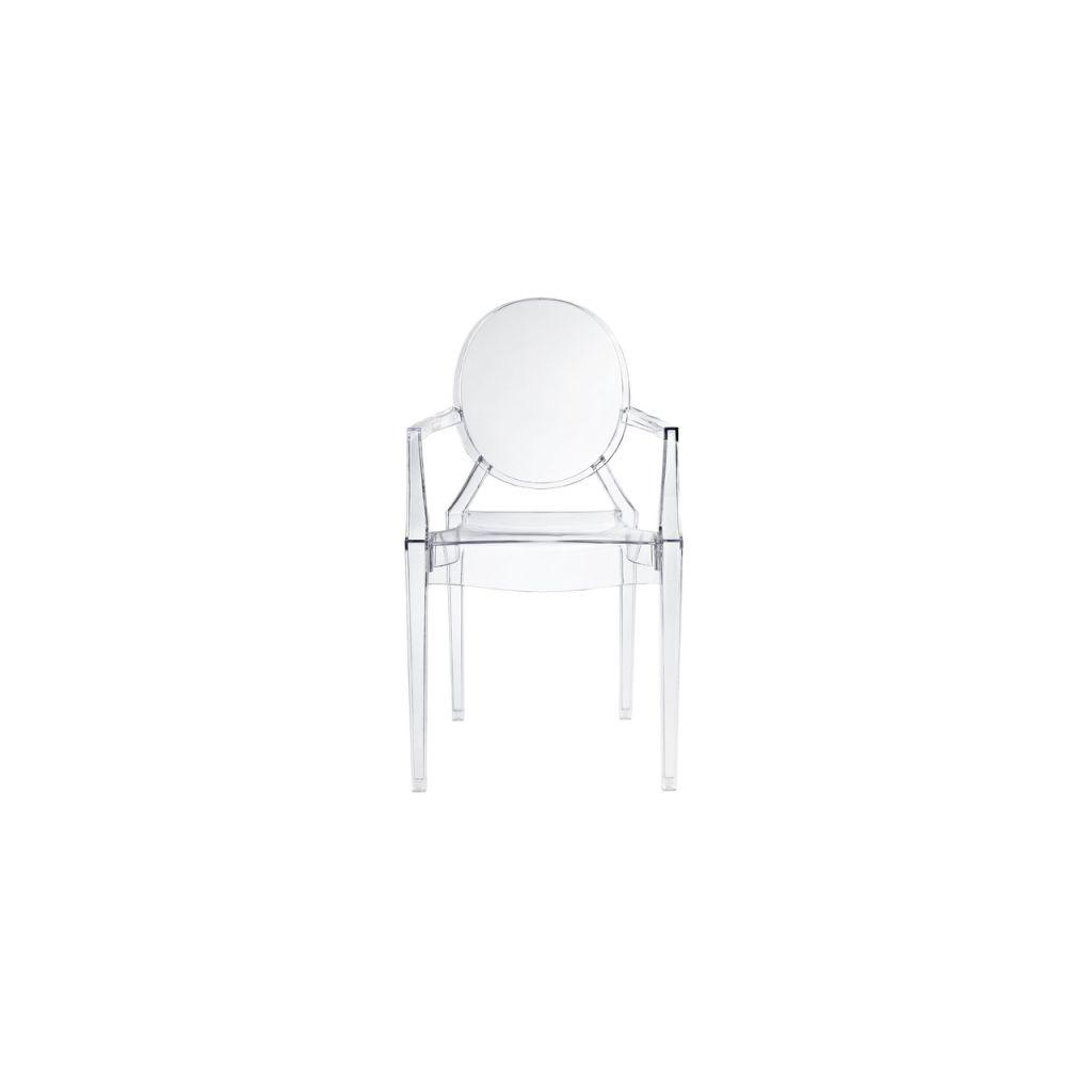 Fauteuil Louis Ghost De Philippe Starck chaise louis ghost kartel l- reproduction philippe starck - diiiz