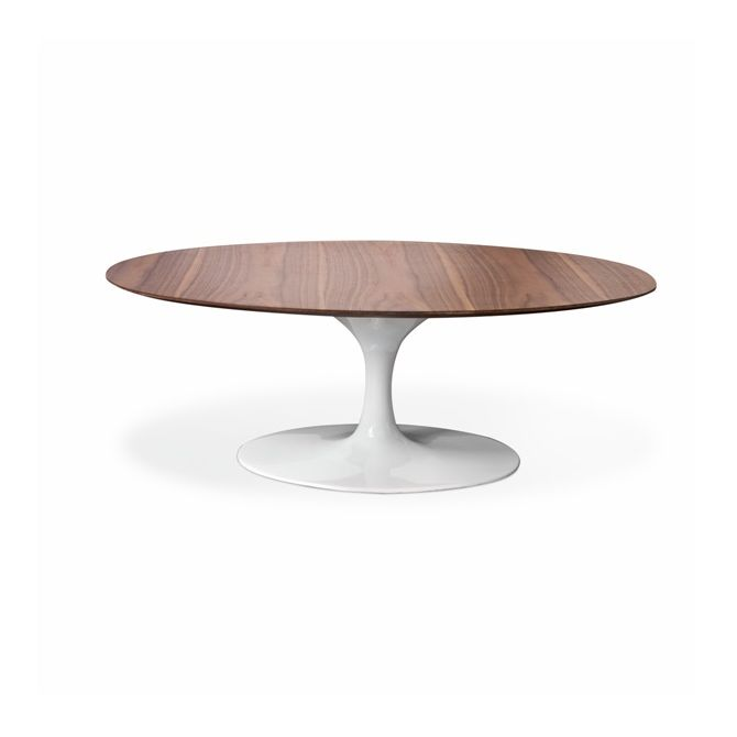 Oval coffee table Tulip - Eero Saarinen Inspiration