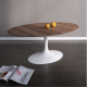 Table basse ovale Tulipe - Inspiration Eero Saarinen