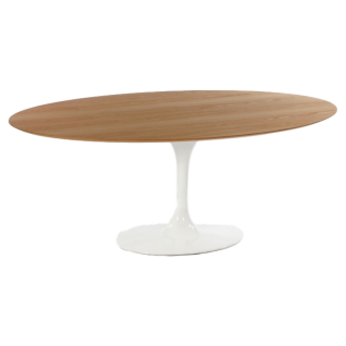 Oval coffee table Tulip - Eero Saarinen Inspiration