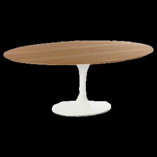 Salontafel ovale Tulip - Inspiratie Eero Saarinen