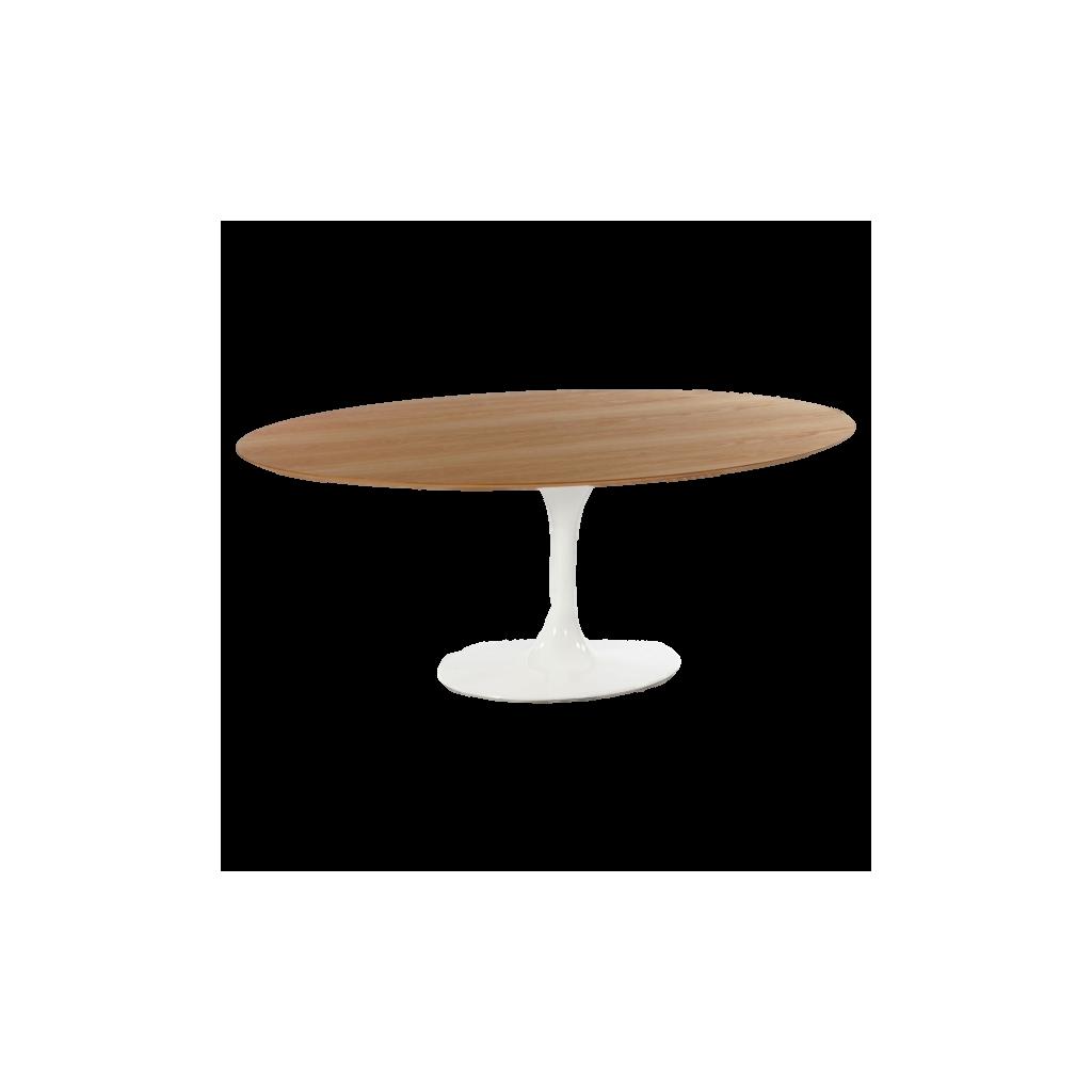 Table Basse Ovale Tulipe Knoll Reproduction Eero Saarinen