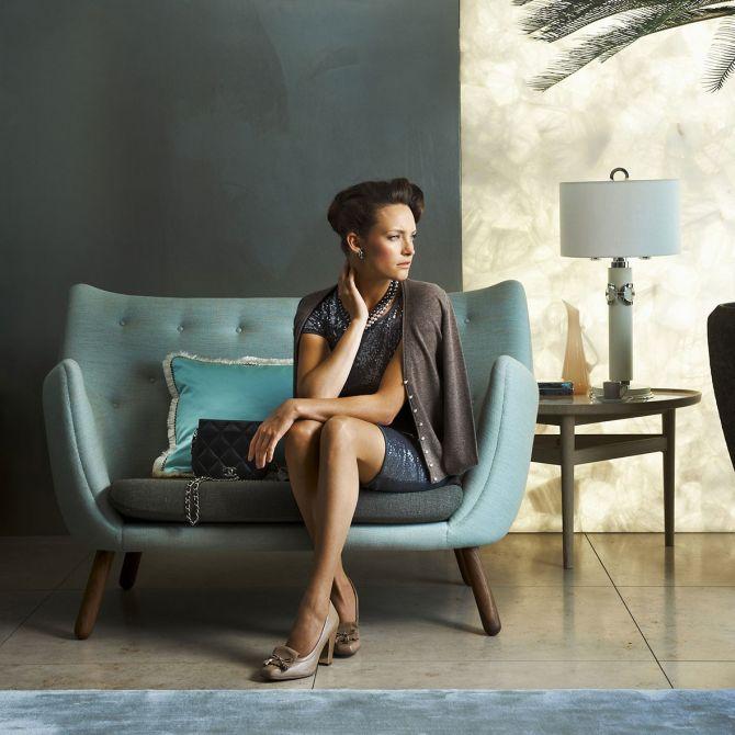 Finn Juhl 2 Seaters Sofa Replica Diiiz