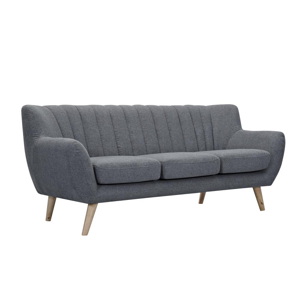 Three Seater Fabric Sofa Lydia