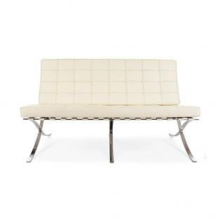 Barcelona 3 zit sofa Knoll - Ludwig Mies Van der Rohe