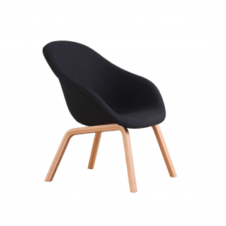 """Fauteuil HAY """"About a lounge"""" AAL82 tissu"""