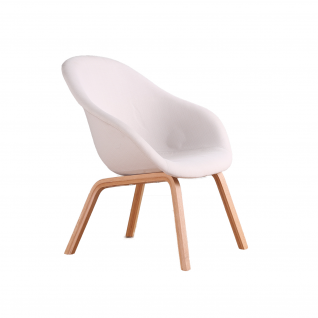 """Fauteuil HAY """"About a lounge"""" AAL83 tissu - Inspiration HAY"""