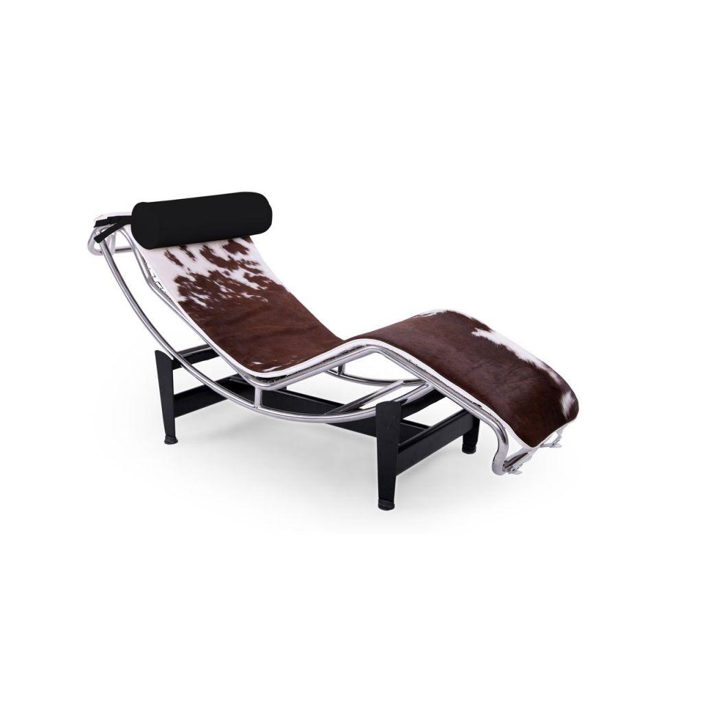Lc4 Lounge Chair Cowhide Inspired Le Corbusier Diiiiz