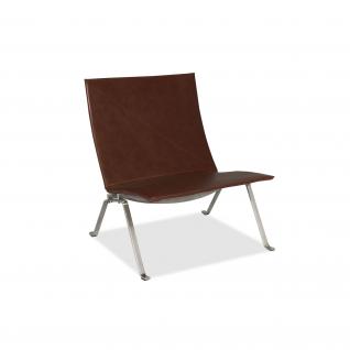 Lounge Chair PK22 Leather - Poul Kjaerholm