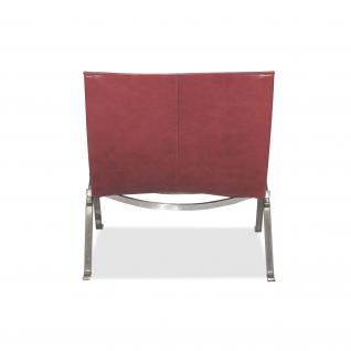 Chaise Relax PK22 Cuir - Poul Kjaerholm