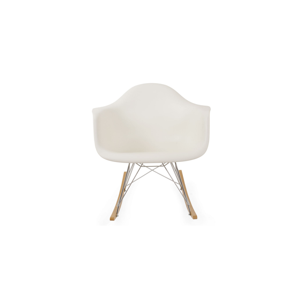 chaise bascule rar reproduction charles eames vitra. Black Bedroom Furniture Sets. Home Design Ideas
