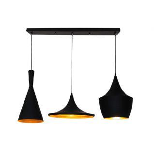 LAMP Hangsysteem met meerdere lampekappen - Tom Dixon