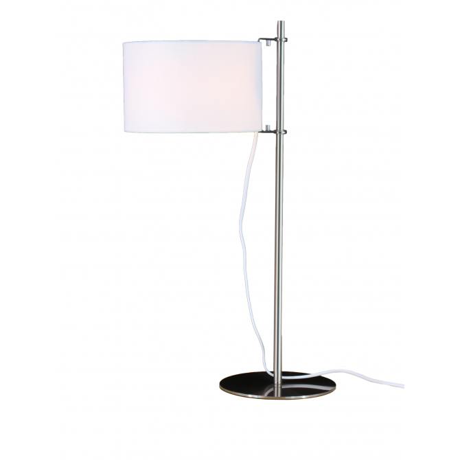 Architect Table Lamp – White and silver