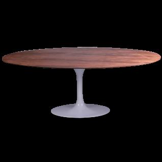 Eero Saarinen-Ovaal hout Tafel Tulipe