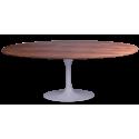 Oval Tulip Table wood