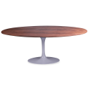Table ovale en bois Tulipe - Inspiration Eero Saarinen & Knoll