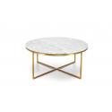 Table basse VALENTINA  marbre et laiton