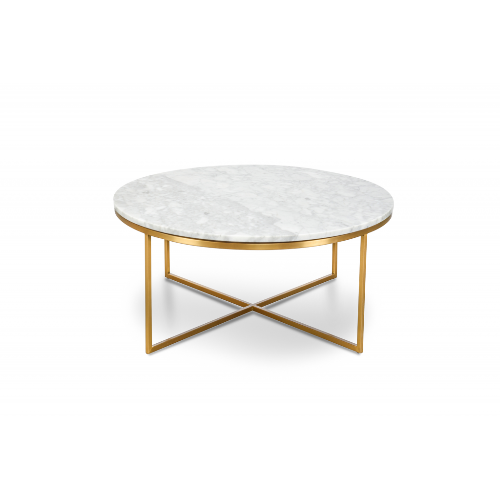 Valentina Marble And Brass Coffee Table Quality