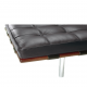 Barcelona Bench 2 seater Knoll replica
