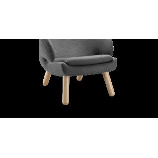 Fauteuil lounge Pélican - Inspiration Finn Juhl