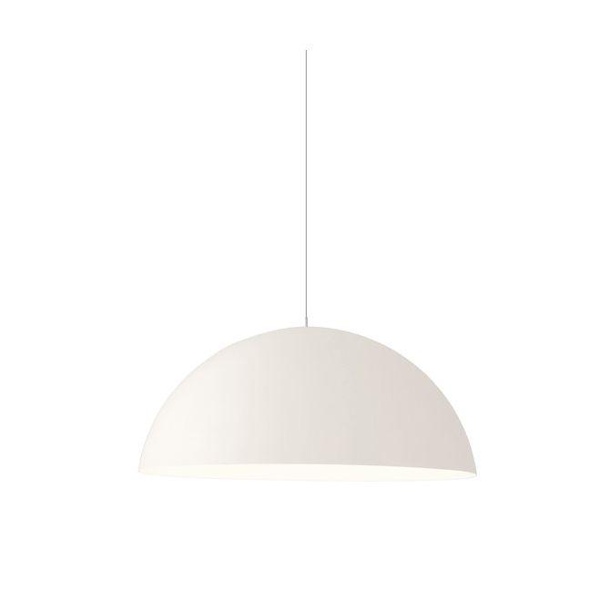 White Pendant Lamp Saturne 50 cm