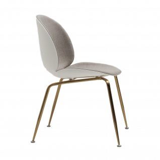 The Beetle Chair In Plastic And Fabric Gubi Reproduction