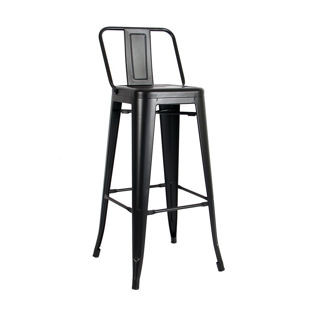 Tolix Bar Stool H80 H90 Café Retro