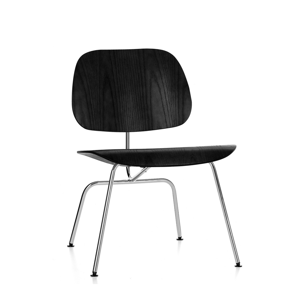 Dcm wood chair reproductie charles eames vitra kwaliteit for Eames stoel zwart