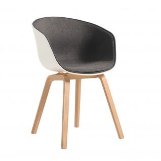 """Hay Chair """"About A chair AAC22"""" fabric - seatpad"""