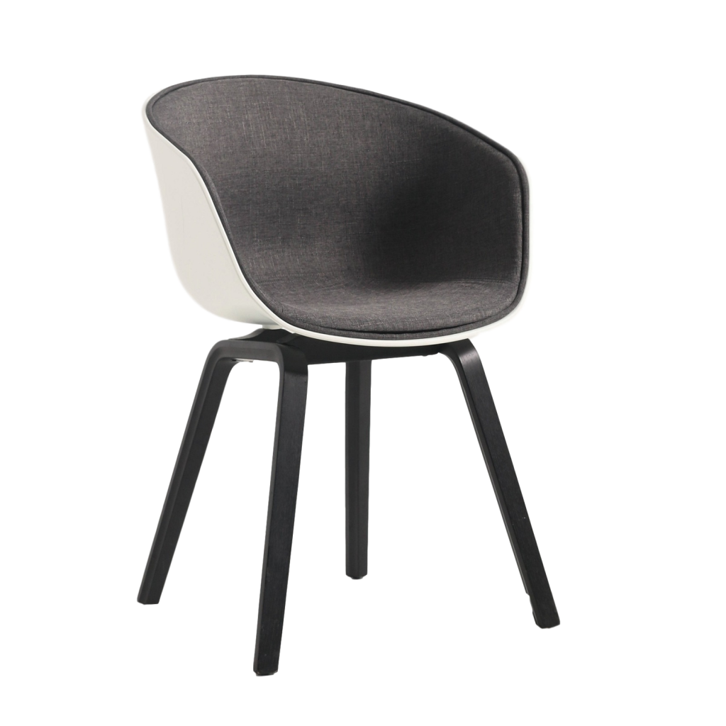 Hay About A chair AAC22 Chair with fabric seatpad   Replica Diiiz