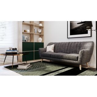 Lydia three-seater sofa