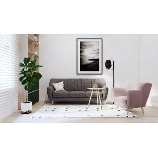 Lydia three-seater sofa