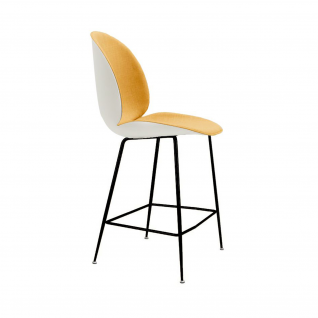 The Beetle bar stool in Plastic and Fabric - Gubi Inspiration