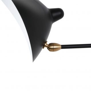 Wall lamp 1 arm - Serge Mouille replica