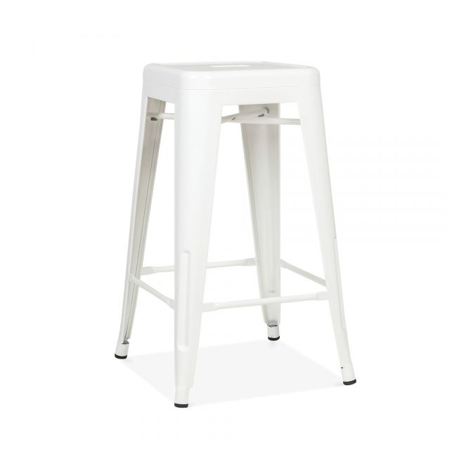 "Tolix Barstool ""Café Retro"" - Metal brushed"