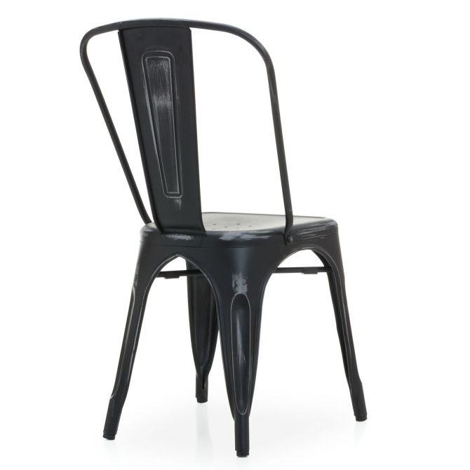 Tolix Chair - Café Retro - Terek Chair Bistro - Antique