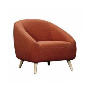 Orange Bonnie one-seater armchair