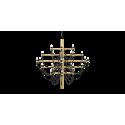 2097 Gino Sarfatti Hanglamp - 30/50 lichten