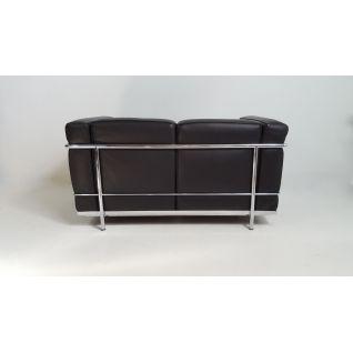 Leer Sofa 3 zitter 'Grand Sofa' - geïnspireerd door de LC2