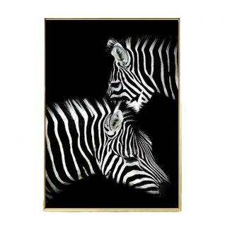 Posters of wild animals in black and white