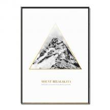 Posters van geografische gouden bergen